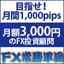 月額3,000円  FX投資顧問アイリンクインベストメント
