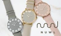 迷い多き女性達が、気を張らずに可愛いを取り入れられるデザインウォッチ【NUWL 】