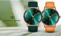 世界水準の素材を使用して、時代を超越するデンマークの時計デザインをアレンジ【August Berg】