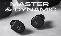 Master & Dynamic パフォーマンスに見合う高い次元のデザインを実現